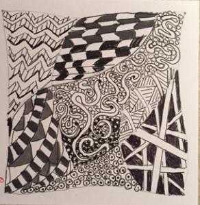 Zentangle #1
